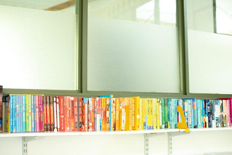 Year 6 book shelf