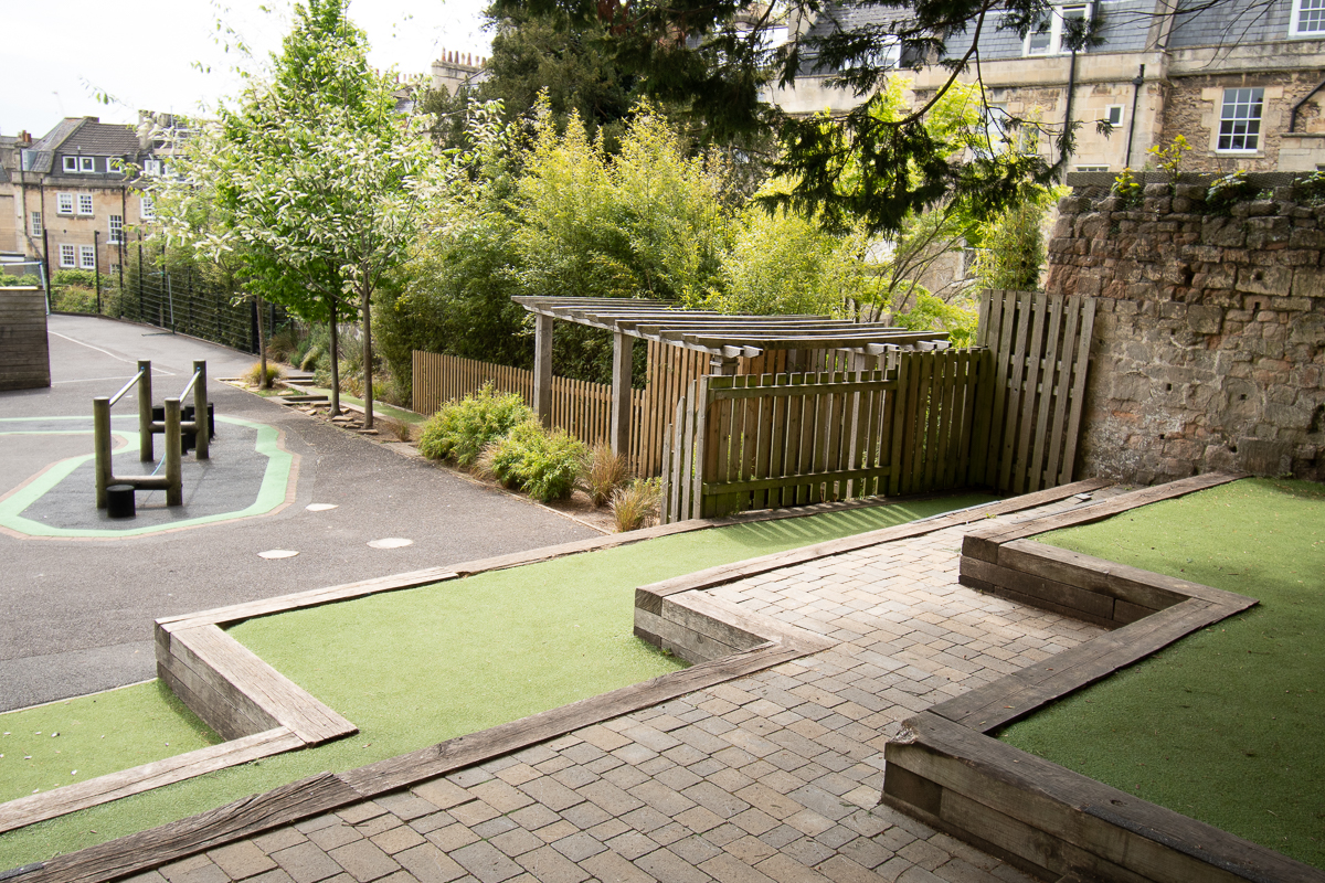 Playgrounds at St Andrew's Church School
