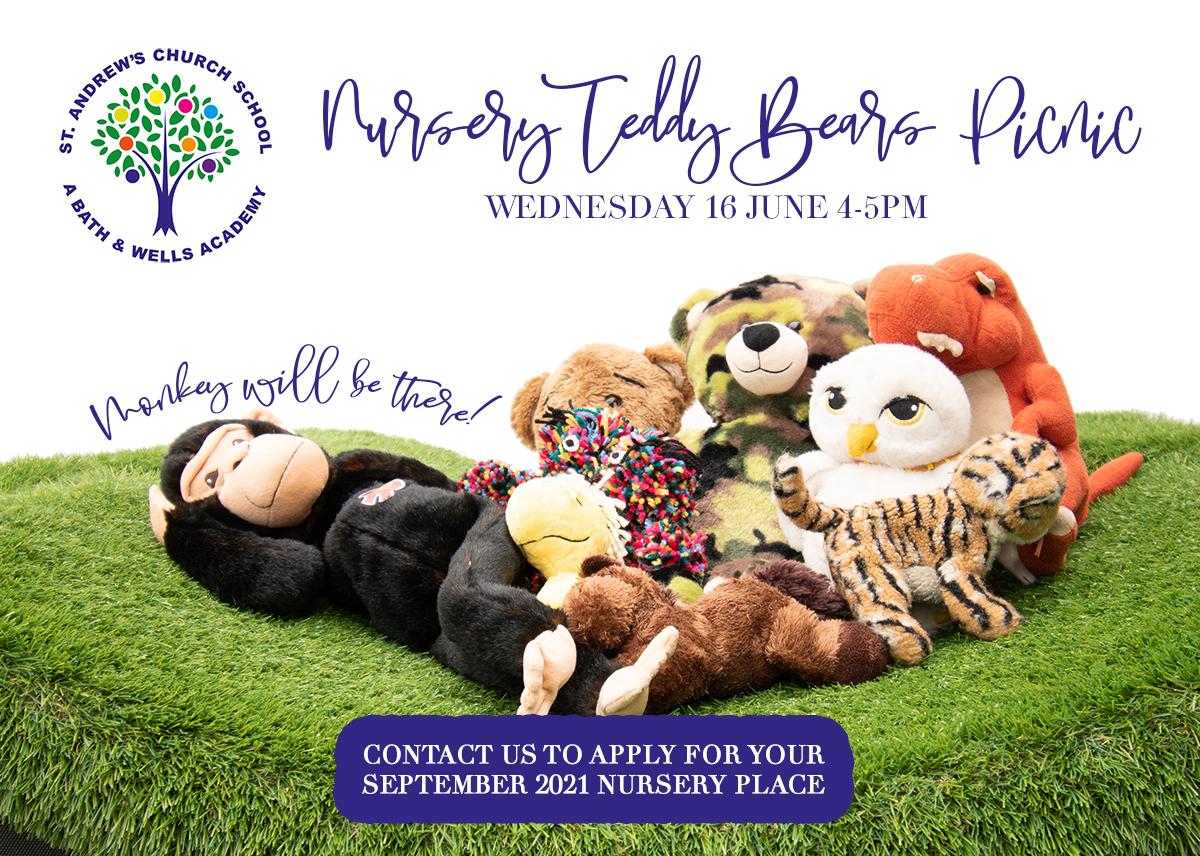 We're having a Teddy Bears Picnic!