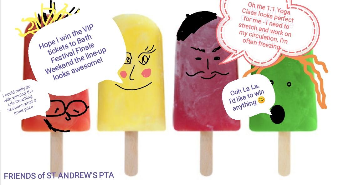 Friends Summer Raffle Draw!