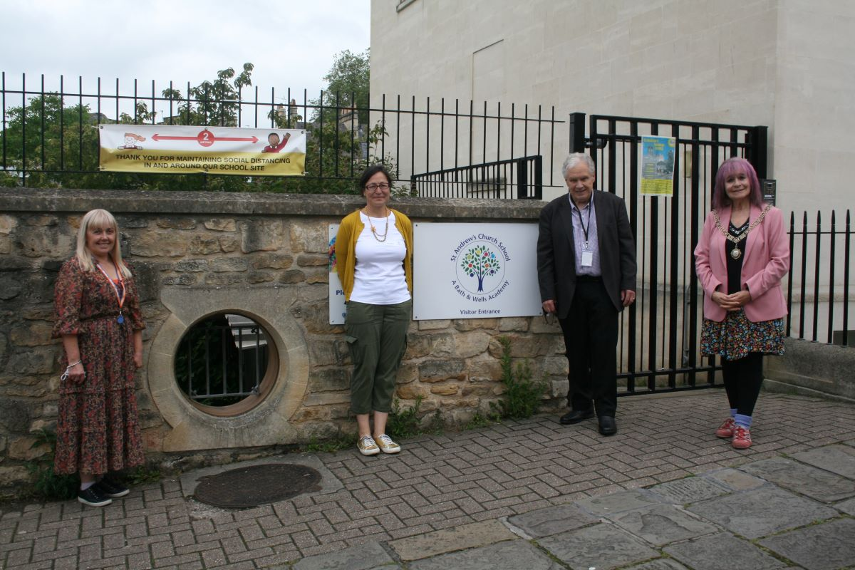 Mayor of Bath visit June 21