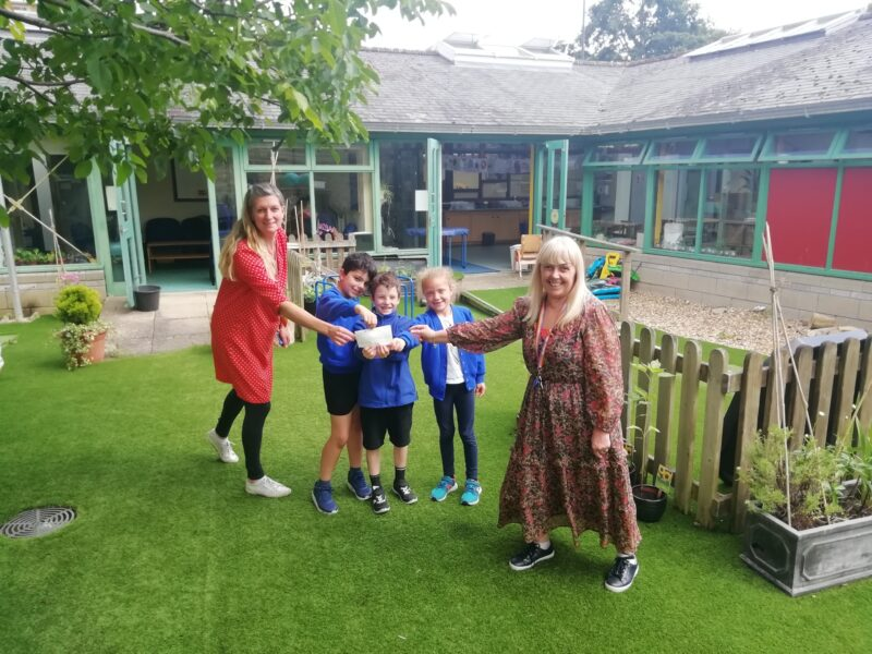 Fundraising success for outdoor play canopy