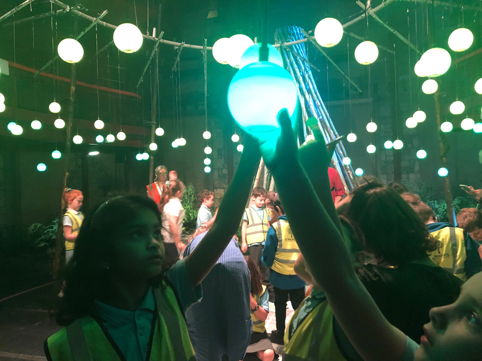 Year 3 visit the Egg to explore a Forest of Imagination & Egg collaboration: The Living Tree